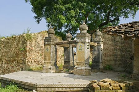 Buddhist site lord Buddha visited this place in 6th and 9th,Kaushambi 60km from Allahabad,Uttar Pradesh,India