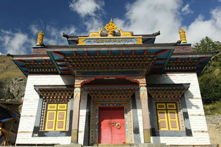 Monastery,Upper Pisang,Nepal