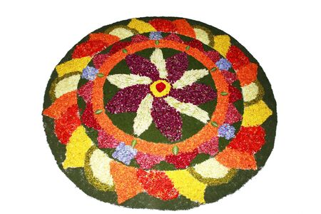 Pukalam flower arrangement,Cochin Kochi,Kerala,India