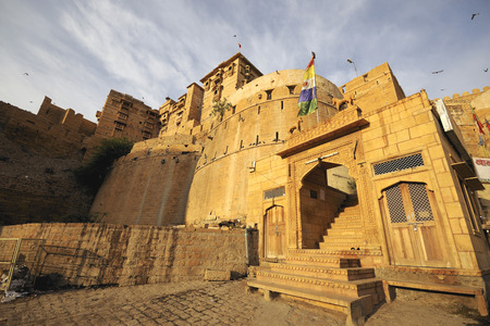 Front view of Jaisalmer fort,Rajasthan,India