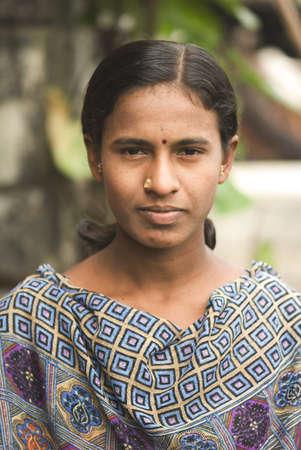 Rural girl,village Vaitagvadi,Parbhani,Marathwada,Maharashtra,India
