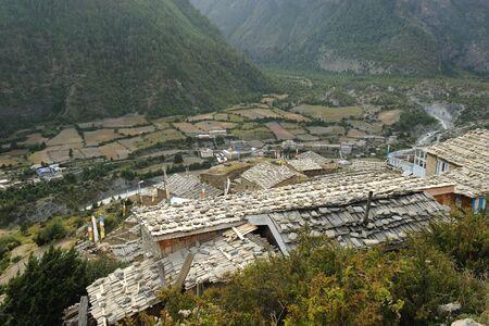Village,Upper Pisang,Nepal