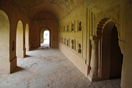 Interior view of talatal Ghar,Sivsagar,Assam,India Reklamní fotografie