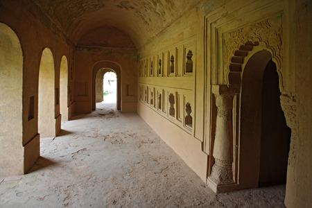 Talatal ガル、Sivsagar、アッサム、インドの内部ビュー