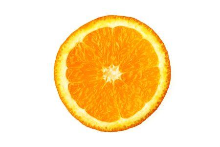 Orange slice citrus reticulata clementin rutaceae,India