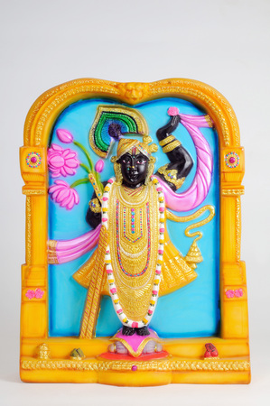 Statue of lord shrinathji,India