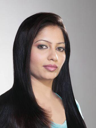 Portrait of sikh lady Stock Photo