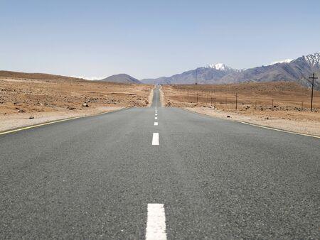 Road,Ladakh,Jammu and Kashmir,India Stock Photo - 85910059