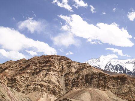 Mountains,Ladakh,Jammu and Kashmir,India Stock Photo