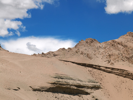 インド ・ ジャンムー ・ カシミール州、ラダック山脈 写真素材