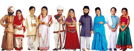Children in fancy dress Foto de archivo