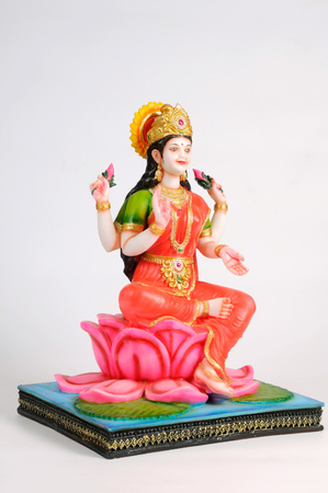 Statue of goddess laxmi,India
