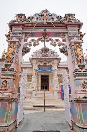 Entrance of panchasara parasvanath jain temple,Patan,Gujarat,India