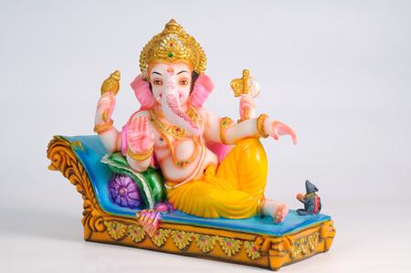 Estatua del señor ganesh, la India Foto de archivo - 85910898
