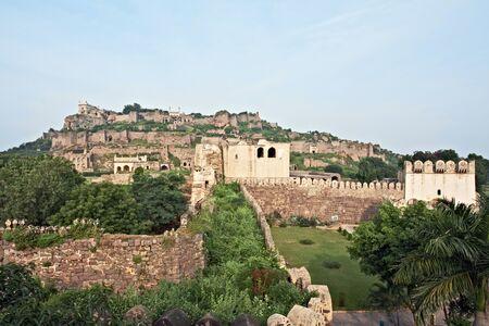 Golconda fort,Hyderabad,Andhra Pradesh,India
