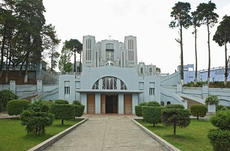 Donbosco 大聖堂、シロン、メガラヤ州、インド
