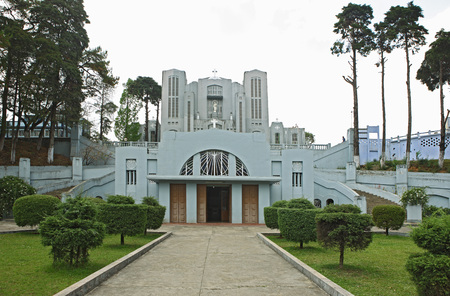 Donbosco-kathedraal, Shillong, Meghalaya, India
