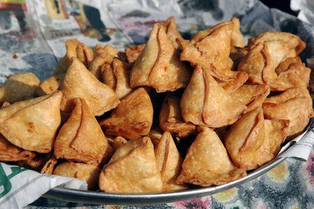 Punjabi samosas,India