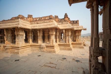 Vitthal temple,Hampi,Karnataka,India Foto de archivo