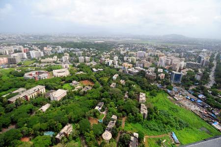aerial view of kalina university,Bombay Mumbai,Maharashtra,India Stock Photo