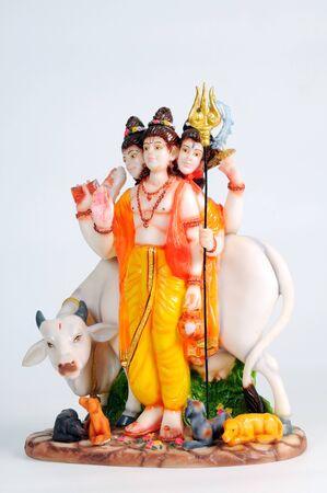 Statue of lord guru datta,India