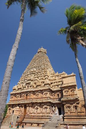ブリハディーシュワラ寺院タンジャーヴール Vishwakarma Tamilnad インド
