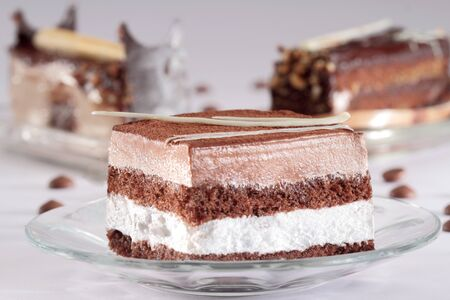 Swiss Chocolate Pastries India Stock fotó