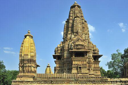 Khajuraho lakshmana temples in madhya pradesh india