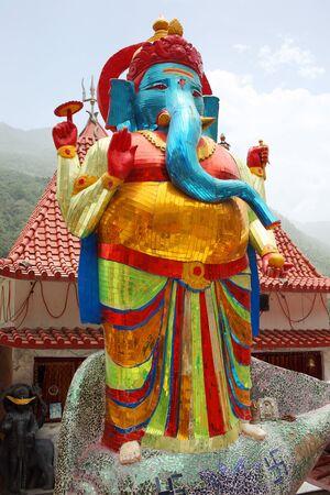 Lord Ganesh Gangotri Uttarakhand India  Asia Stok Fotoğraf