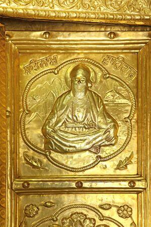 Sikhism Gurudwara Hazur Sahib sachkhand Gold Door Nanded Maharashtra India
