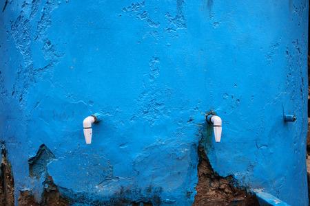 Taps of water tank Rudraprayag Uttarakhand India Asia