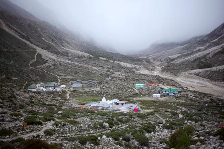 Bhojbasa village Gangotri Uttarakhand India  Asia