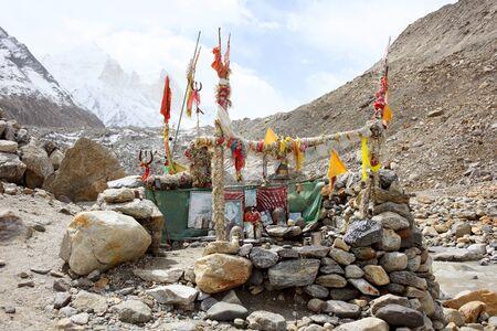 gods: Lord Shiva temple Gangotri Uttarakhand India Asia