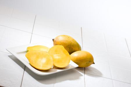 Mangoes and mango slice