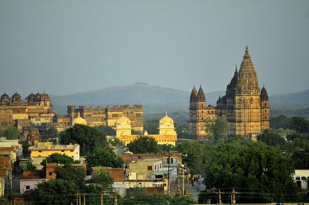 Orchha chaturbhuj temple khajuraho madhya pradesh india