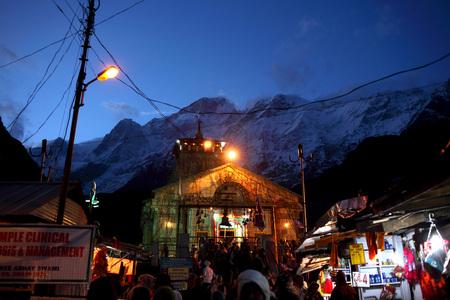 Kedarnath temple Uttarakhand India Asia