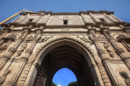 Khambhalia Gate in Jamnagar Gujarat India Stock Photo
