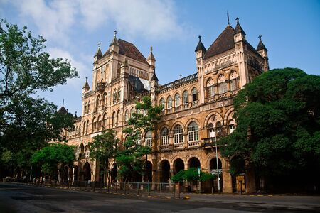 The Elphinstone College Mumbai Maharashtra India September 2010 Stock Photo