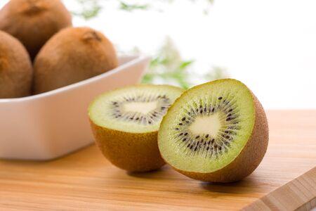 Kiwi in bowl