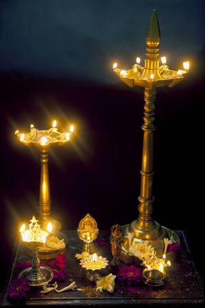 oillamp: Brass oillamp India