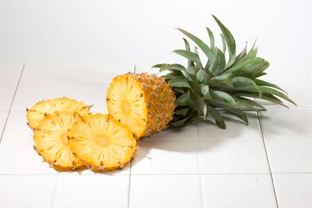 Pineapple with pineapple slice