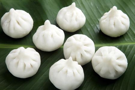 Indian Food steam modak India