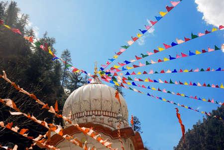 Gurudwara temple Manali Himachal Pradesh India Asia
