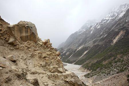 Mountain Gangotri Uttarakhand India Asia
