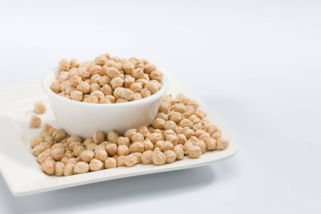 Chick peas in bowl