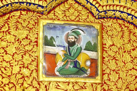 Sikhism Gurudwara Vergulde muur Nanded Maharashtra India