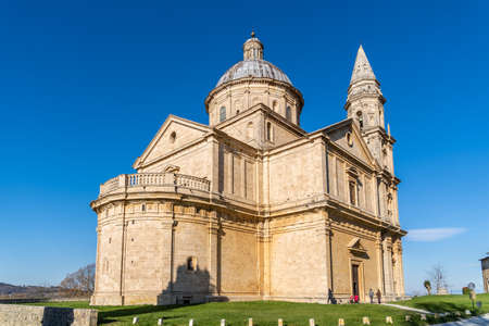 Beautiful building of Temple of San Biagio