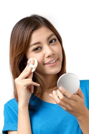 cuteness: Woman in makeup Stock Photo