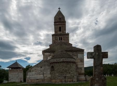 The Densus Church  also known as St Nicholas   Church  in Hunedoara County, Romania