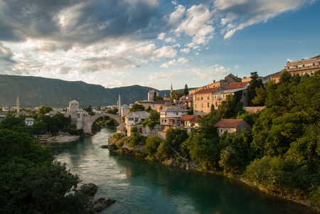 The Old Bridge in Mostar, Bosnia and Herzegovina